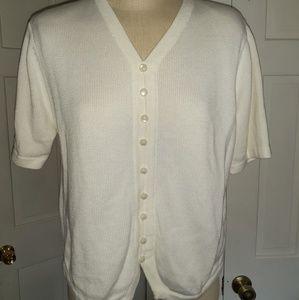 Cute shirt sleeves sweater